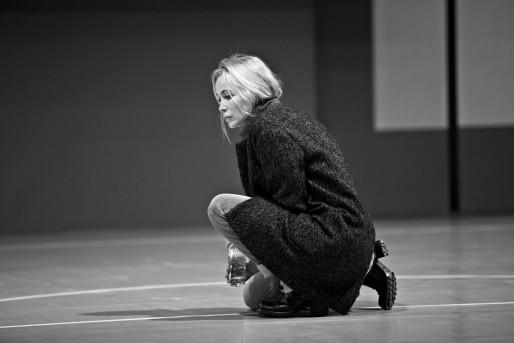 """Emmanuelle Béart est """"Emmanuelle"""" dans """"Répétition"""" (Photo Jean-Louis Fernandez)"""