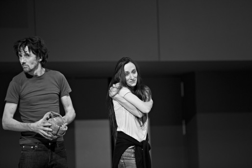 Stanislas Nordey et Audrey Bonnet (Photo Jean-Louis Fernandez)
