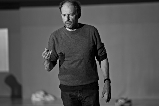 """Denis Podalydès dans """"Répétition"""" (Photo Jean-Louis Fernandez)"""