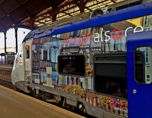 Les abonnés CTS pourront circuler dans les 14 gares de l'Eurométropole (Photo JFG / Rue89 Strasbourg)