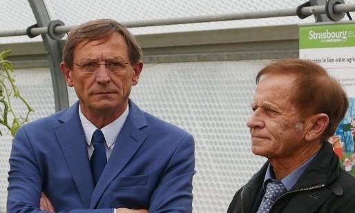 Robert Herrmann et Jean-Paul Bastian - Photo EJ - BDLR