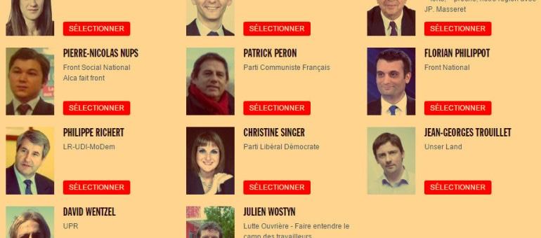 Élections régionales : posez vos questions aux candidats