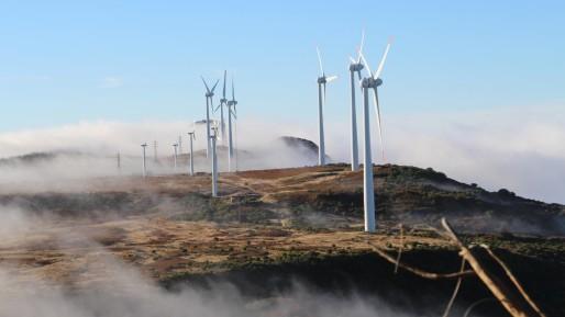 Les éoliennes de Madère (Photo Arte Futur)