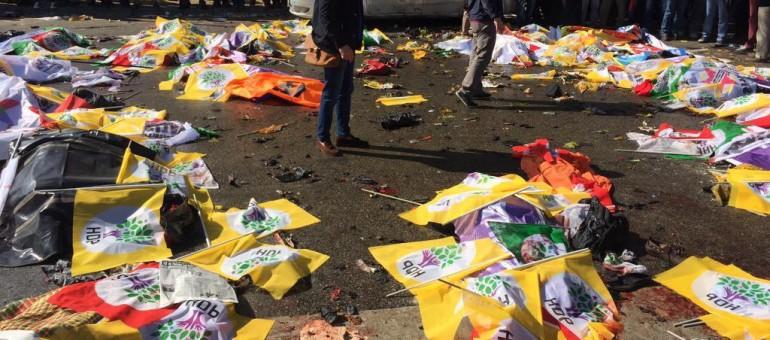 Attentat à Ankara : manifestation de soutien à 13h place Kléber