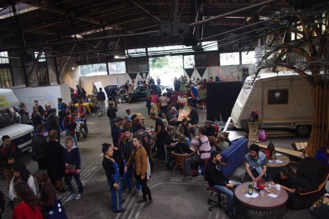 Le festival Selbst Gemacht en 2014 (Photo La Semencerie)
