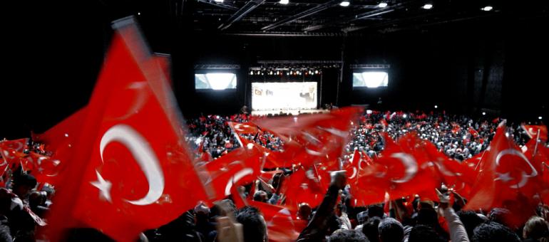Strasbourg : double accueil pour le président turc Erdogan