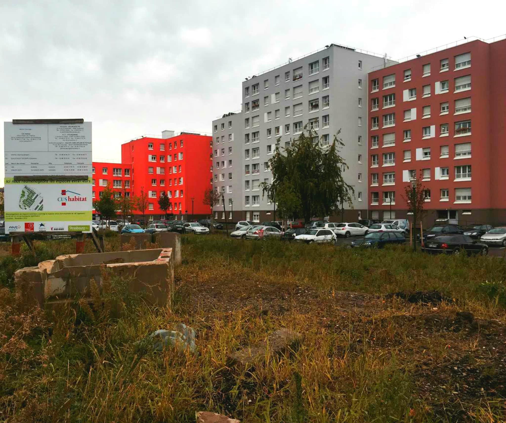 rénovation urbaine neuhof
