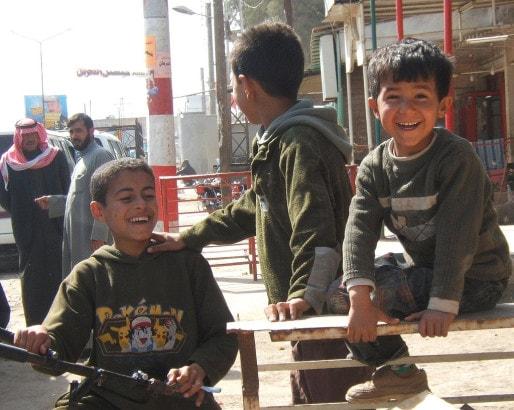 Scène de rue en Syrie (photo Jean-françois Gornet / Flickr / cc)