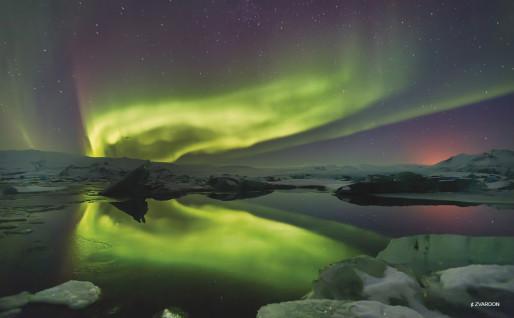 """Aurora borealis"" (Crédit F. Zvardon)"