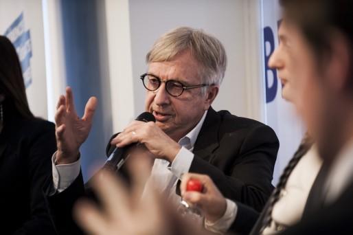 Jean-Pierre Masseret, lors du débat des têtes de liste du Grand Est, à la Librairie Kléber en novembre. (Photo Pascal Bastien)