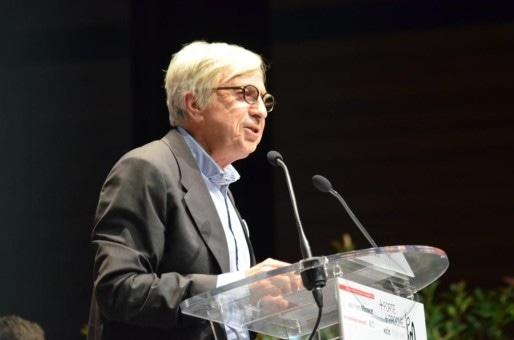 Jean-Pierre Masseret lors du lancement de sa campagne des régionales à Toul en septembre (Photo Campagne Masseret)