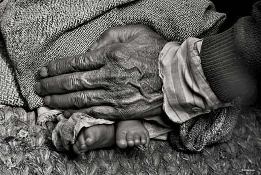 Au Népal - 1995 (Crédit F. Zvardon)