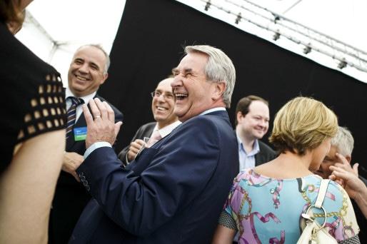 Au cours de sa carrière politique, Philippe Richert a eu de la chance (Photo Pascal Bastien)