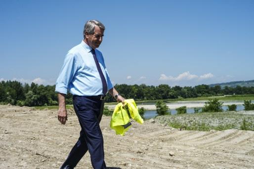 Philippe Richert en juin 2015. Déterminé ou obstiné ? (Photo Pascal Bastien)