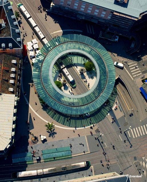 Place de l'Homme-de-Fer (Crédit F. Zvardon)