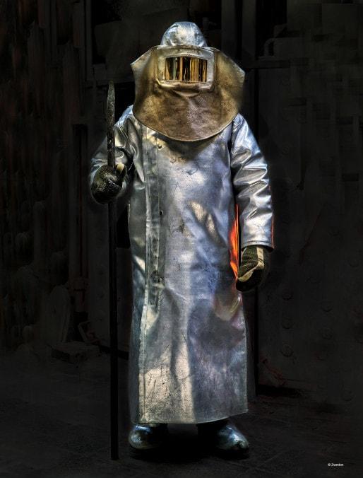 """L'une des photos de l'exposition """"Iron heroes"""" - Apollonia jusqu'au 22 novembre (Crédit F. Zvardon)"""