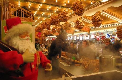 Le marché de Noël place Broglie est le seul à être maintenu (Photo François Schnell / FlickR / cc)