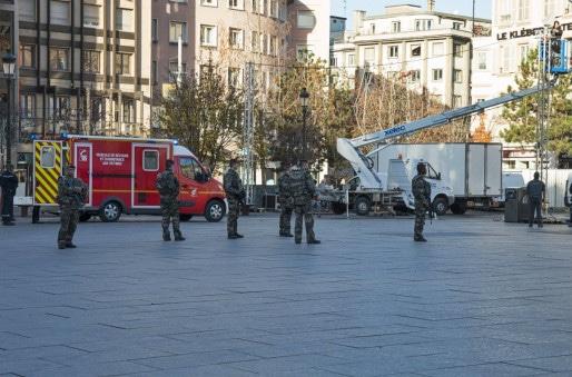 Des renforts sont prévus pour les patrouilles de militaires (Photo Vivien Latuner / Pokaa)