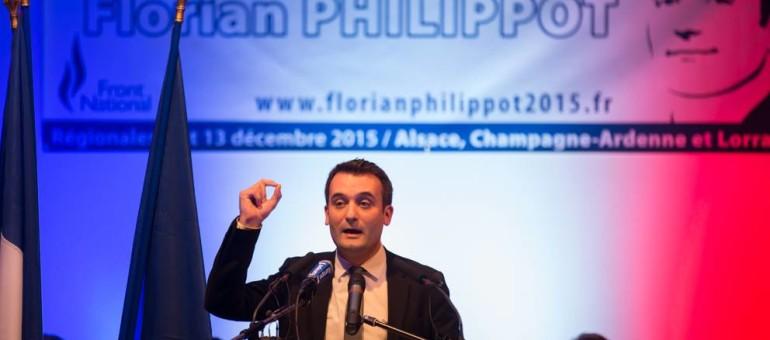 Florian Philippot pense que l'avenir de la région doit passer par la fermeture des frontières (Photo Arnaud Scherer / Loractu.fr)