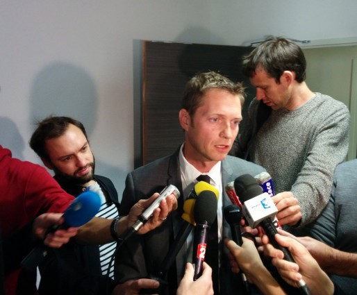 """Pour le procureur de la République adjoint Alexandre Chevrier, """"un long travail d'expertise commence""""."""