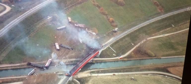 La SNCF établit que le TGV d'essai a déraillé parce qu'il allait trop vite