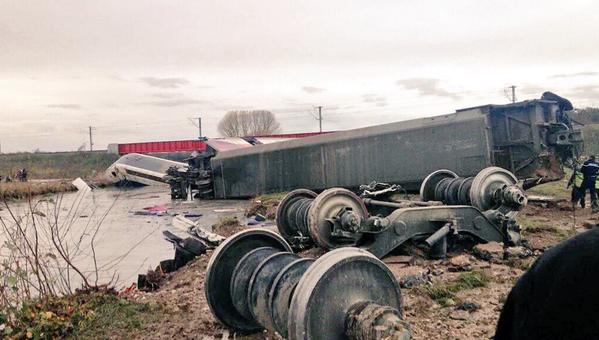 Une «succession d'erreurs» a provoqué l'accident du TGV d'essai en 2015