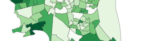 Les résultats par bureau de vote à Strasbourg (carte Raphaël Da Silva)