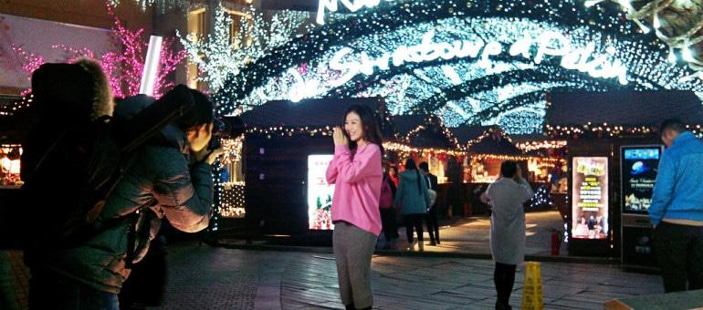 AuChristkindelsmärik de Pékin, des douaniers suspicieux, des Chinois conquis