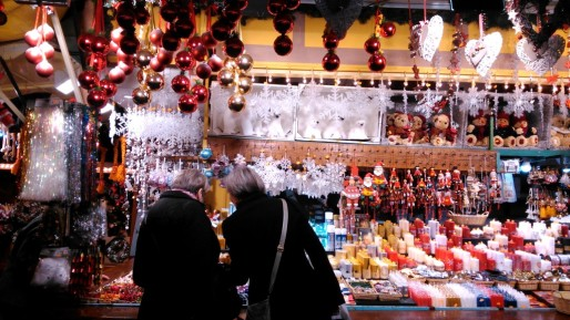Le marché de Noël, un événement essentiel pour les forains.