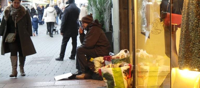 Bientôt un numéro «allo SDF – commerçants en détresse» à Strasbourg