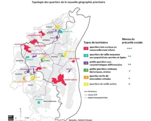 A Strasbourg, les quartiers affichent une grande diversité. (DUAH/GCT/B.Soulet/cadre du contrat de ville de l'eurométropole/cc)