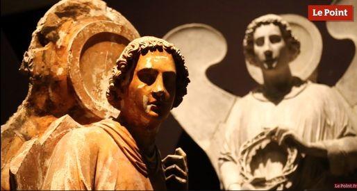 Le Point consacre deux reportages à la visite du musée de l'OEuvre Notre Dame et de la Cathédrale (capture d'écran)