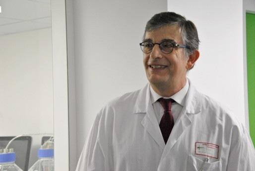 Le professeur Fréderic de Blay, chef du pôle de pathologie thoracique, porte le projet depuis 2011 (Photo NM / Rue89 Strasbourg / cc)