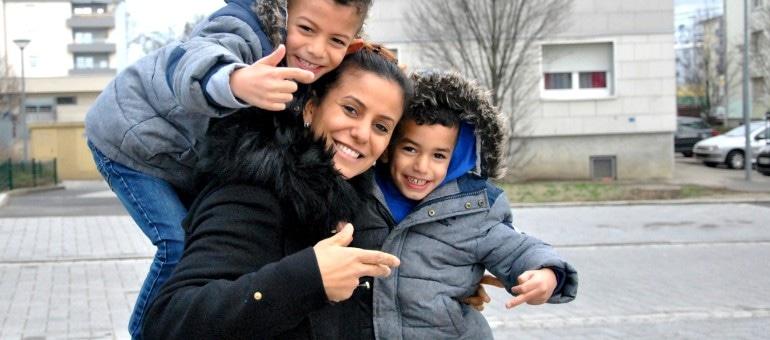Au Neuhof, le rap du ter ter de Jamila Haddoum, c'est en famille
