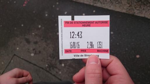 Au centre-ville, en zone rouge, l'heure de stationnement coûte désormais 2,10 euros, du lundi au samedi, de 9h à 19h. (Photo : TM)