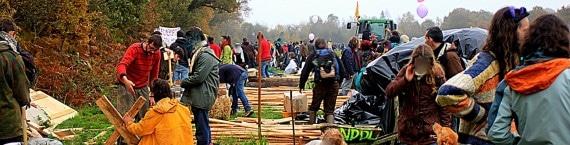 Plusieurs habitants de la zone à défendre (ZAD) risquent l'expulsion (Photo DR)