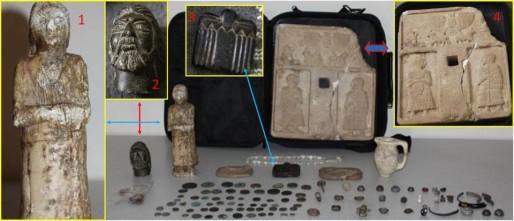A Gaziantep, en Turquie, l'association a contribué à la localisation de 168 objets volés. (Doc. remis)