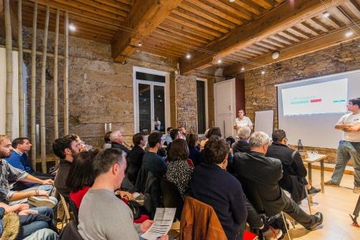 Une réunion de présentation à Lyon (photo La Primaire / Flickr / cc)