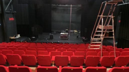 Le confort de la salle de spectacle n'a plus rien à voir avec le Kafteur (Photo PF / Rue89 Strasbourg / cc)