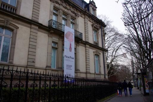 La facade extérieure du Musée Tom Ungerer, Place de la République à Strasbourg. (Photo: Anaïs Engler)