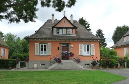 Les maisons proposés dans la cité-jardin Ungermach était moderne et confortable pour un prix défiant toutes concurrences. Mais la sélection des résidents suivait des principes eugénistes. (Photo Ji-Elle)