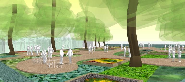 Un jardin participatif et culturel à l'entrée de la Robertsau