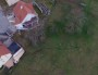 Vu du ciel, d'importantes crevasses se forment à Lochwiller (capture d'écran)