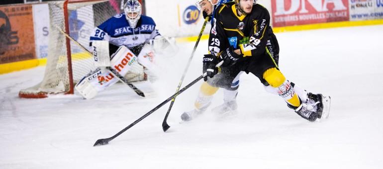 Hockey sur glace, au top du tableau mais toujours mineur à Strasbourg
