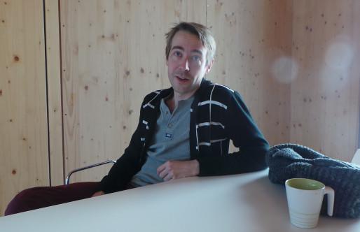 Jeremy Bouchet, première expérience d'entrepreneur (photo JFG / Rue89 Strasbourg)