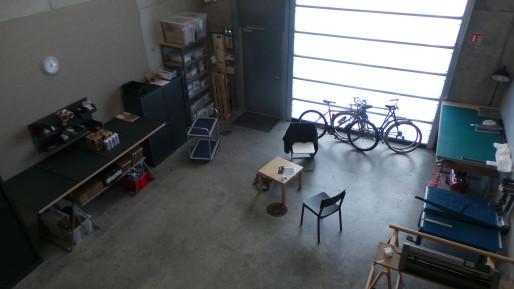 Un atelier, vu depuis l espace bureau en mezzanine (photo JFG / Rue89 Strasbourg)
