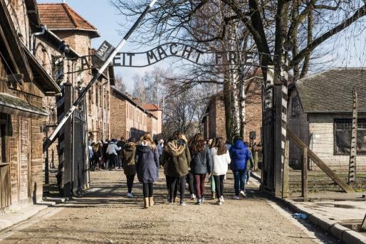Lycéens de Marcel-Rudloff à Auschwitz - mercredi 16 mars 2016 (Photo Pascal Bastien)