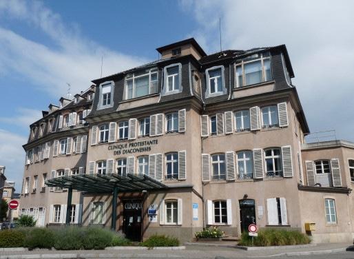 Après rénovation, le bâtiment historique de la clinique des Diaconesses devrait accueillir une résidence étudiante, un hôtel-Spa et un hôtel hospitalier. ( Photo : Ji-Elle / Wikimedia Commons / cc)