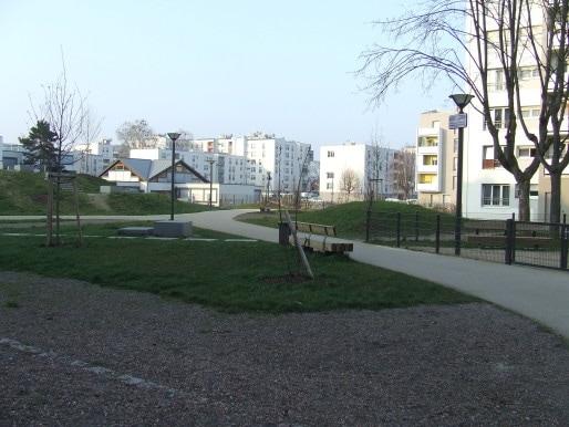 Désormais, l'intérieur des mailles sont visibles depuis l'extérieur, comme ici, maille Catherine. (Photo RB / Rue89 Strasbourg)