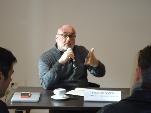 Frédéric Simon, nouveau directeur du Théâtre du Maillon (Photo M. Bohner / Rue89 Strasbourg)